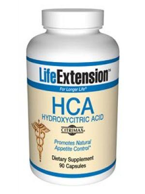 Life Extension 500mg HCA (Garcinia Cambogia) 90 Caps