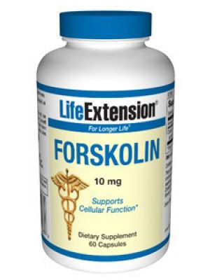 Life Extension Forskolin 10mg 60 Caps