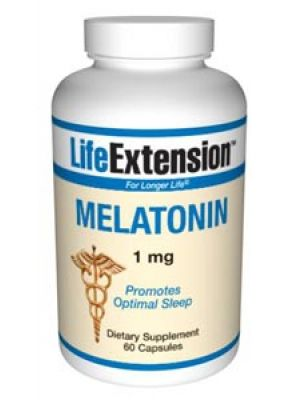 Life Extension Melatonin 1mg 60 Caps