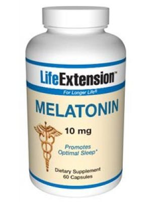 Life Extension Melatonin 10mg 60 Caps