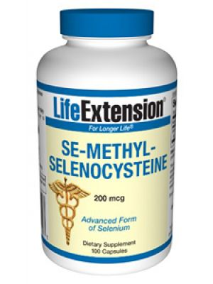 Life Extension Se-methylselenocysteine (SeMC) 200mcg 100 Caps