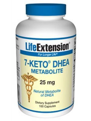Life Extension 7-Keto DHEA Metabolite 25mg 100 Caps