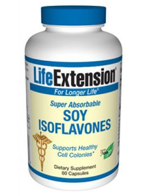 Life Extension Super-Absorbable Soy Isoflavones 60 Caps