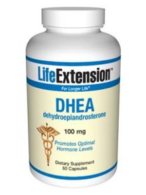 Life Extension DHEA (dehydroepiandrosterone) 100 mg 60 Caps