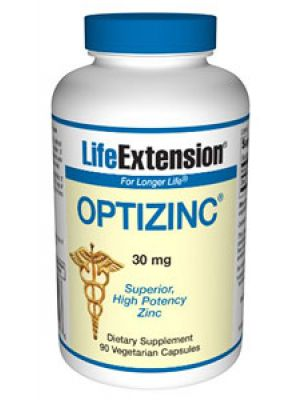Life Extension OptiZinc 30 mg 90 Vegecaps
