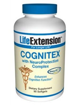 Life Extension Cognitex with NeuroProtection Complex 90SG