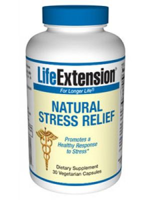 Life Extension Natural Stress Relief 30VC
