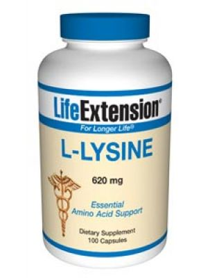 Life Extension L-Lysine 620 mg 100 Caps