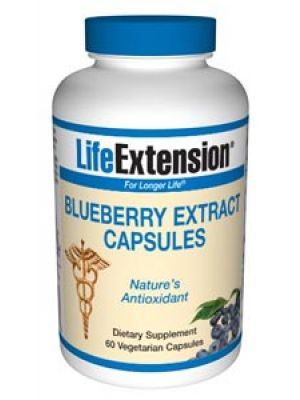 Life Extension Blueberry Extract 60 Vegecaps