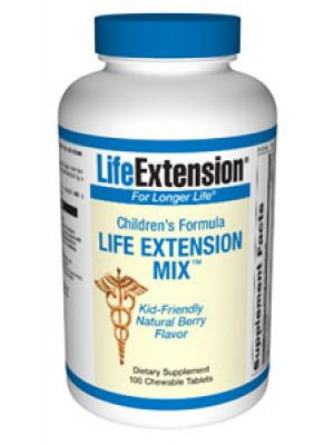 Life Extension Children's FormulaMix 100 Chews