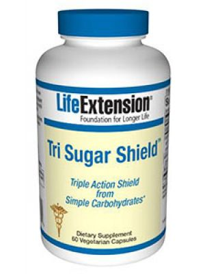 Life Extension Tri Sugar Shield 60 Vege Caps