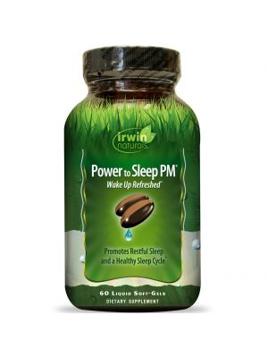 Irwin Naturals Power to Sleep PM 6mg Melatonin 60 Gels