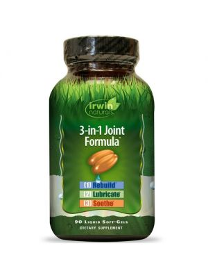 Irwin Naturals 3-in-1 Joint Formula 90 Liquid Soft Gels