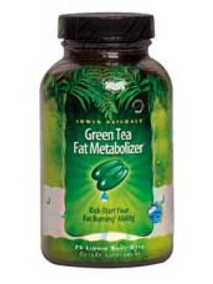 Irwin Naturals Green Tea Fat Metabolizer 75 Liquid Soft Gels