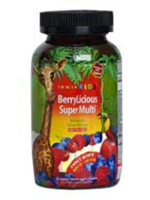 Irwin Naturals Kids BerryLicious Super Multi Sweet Berry 30 Chews