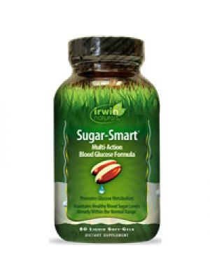 Irwin Naturals Sugar Smart 80 Liquid Soft Gels