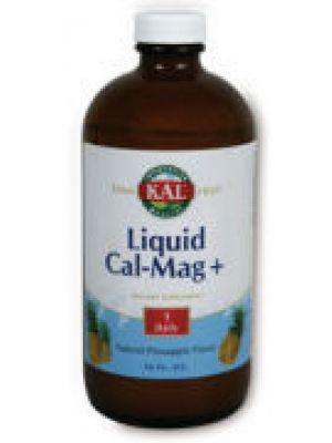 Kal Liquid Calcium - Magnesium+ Raspberry Flavor 16oz