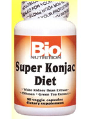 Bio Nutrition Super Konjac Diet 90 Vege Caps