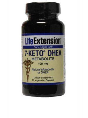 Life Extension 7-Keto DHEA Metabolite 100 mg 60 Vegecaps