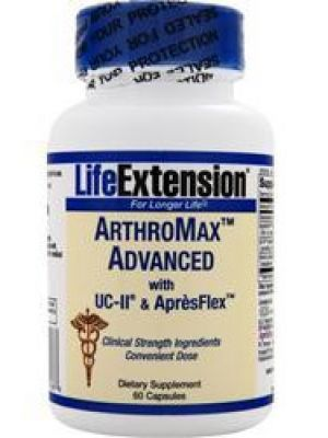 Life Extension ArthroMax Advanced with UC-II & ApresFlex 60 Caps