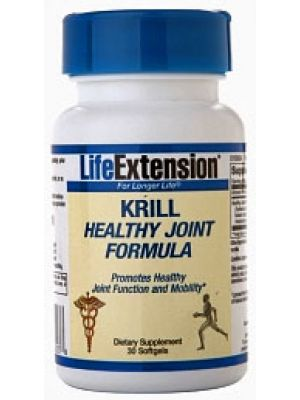 Life Extension Krill Healthy Joint Formula 30 Softgels