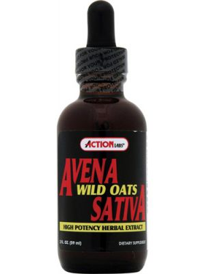 Action Labs Avena Sativa Oat Straw Extract 2 Fl Oz