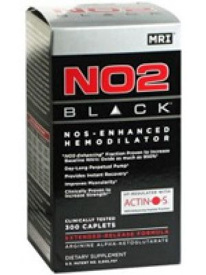 MRI NO2 Black 300 Caplets