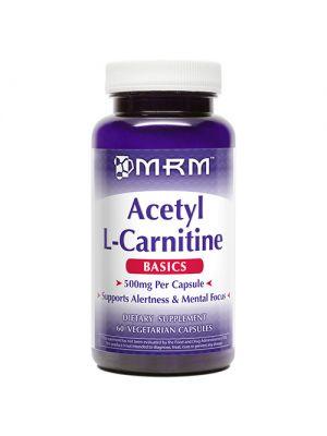 MRM Acetyl L-Carnitine 500mg 60 Vege Caps