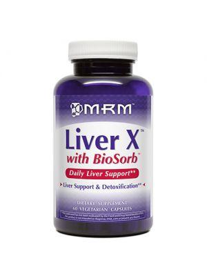MRM Liver X 650mg 60 Vege Caps