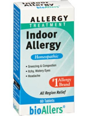 Natra-Bio Bioallers Indoor Allergy 60 Tablets