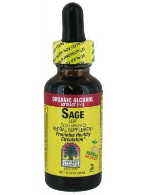 Nature's Answer Sage Leaf 1 Fl Oz