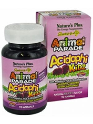 Nature's Plus Animal Parade Acidophi-Kidz Berry 90 Chews