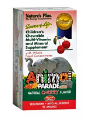 Nature's Plus Animal Parade (Kids Chewable Multi) Chr,Org,Grp 90 tabs