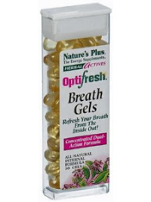 Nature's Plus Optifresh Breath Gels 12 Pack