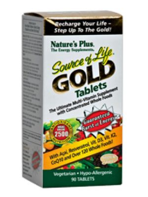 Nature's Plus Source of Life Gold 90 Tablets
