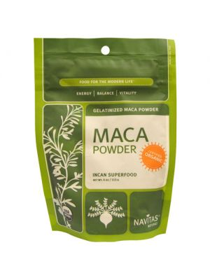 Navitas Naturals Raw Maca Powder (Certified Organic) 4 Oz