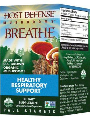 Fungi Perfect Host Defense Breathe 30 Vege Caps