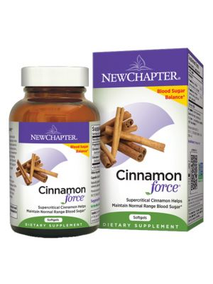 New Chapter Cinnamon Force 120 Soft Gels