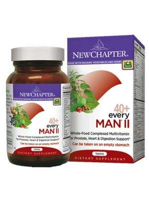 New Chapter Every Man II 40+ 96 Tabs