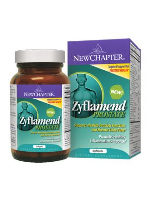 New Chapter Zyflamend Prostate 60 Soft Gels