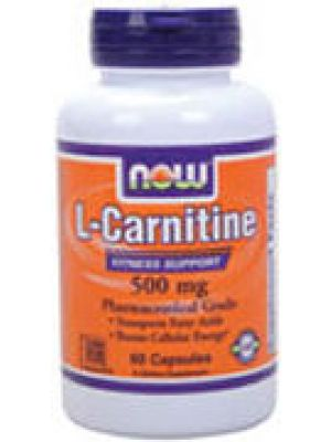 Now Foods L-Carnitine 500mg 60 Caps (Dr. Oz Show)