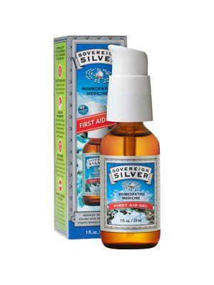 Natural Immunogenics Sovereign Silver First Aid Gel 1 Fl Oz