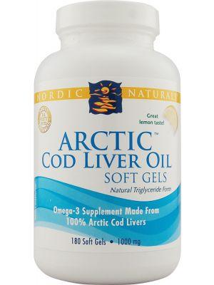 Nordic Naturals Arctic Cod Liver Oil Caps 180 SoftGels