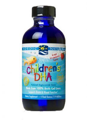 Nordic Naturals Children's DHA Liquid Strawberry 8 Fl Oz