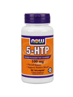 Now Foods 5-HTP 100mg 60 Vege Caps
