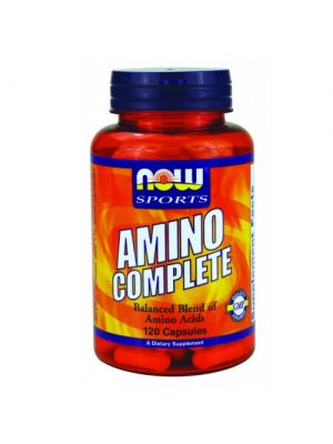 Now Foods Amino Complete 120 Caps