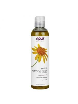 Now Foods Arnica Warming Relief Massage Oil 8 Oz