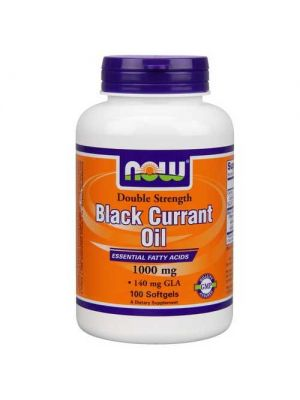 Now Foods Black Currant Oil 1,000 Mg 100 Softgels