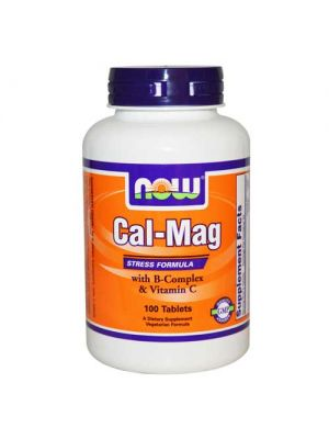 Now Foods Cal - Mag 500/250 Mg 100 Tablets