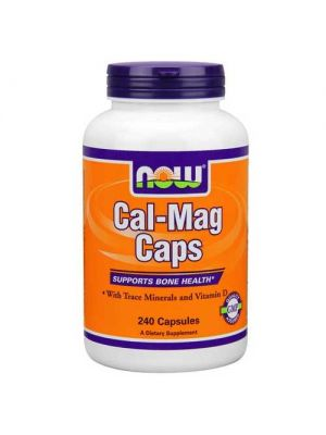 Now Foods Cal-Mag + D Softgels 240 Softgels